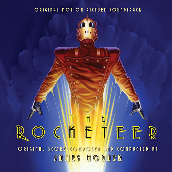 Rocketeer, The Soundtrack CD James Horner 2CD Set