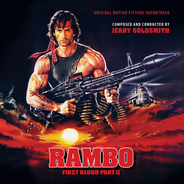 Rambo First Blood Part 2 Soundtrack 2CD Jerry Goldsmith