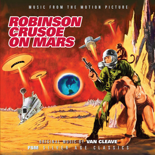 Robinson Crusoe On Mars Soundtrack CD Nathan Van Cleave