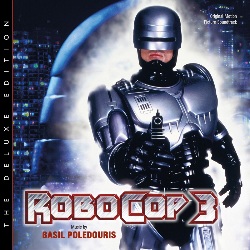 Robocop 3 The Deluxe Edition Soundtrack CD Basil Poledouris