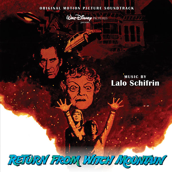 Return From Witch Mountain Soundtrack CD Lalo Shifrin