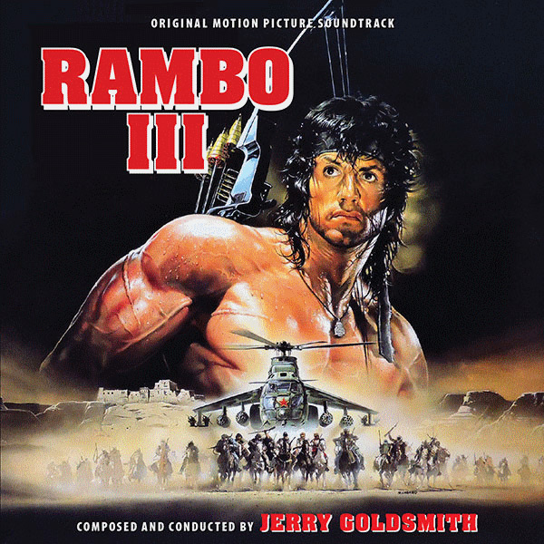 Rambo III Re-Mastered Soundtrack CD Jerry Goldsmith
