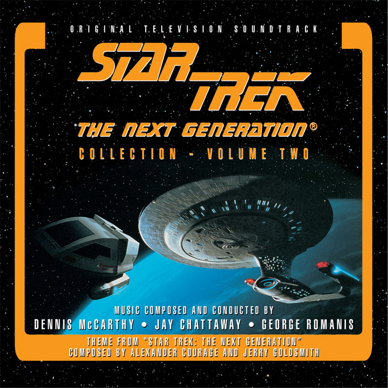 Star Trek: Next Generation Collection Vol#2 3 CD Set