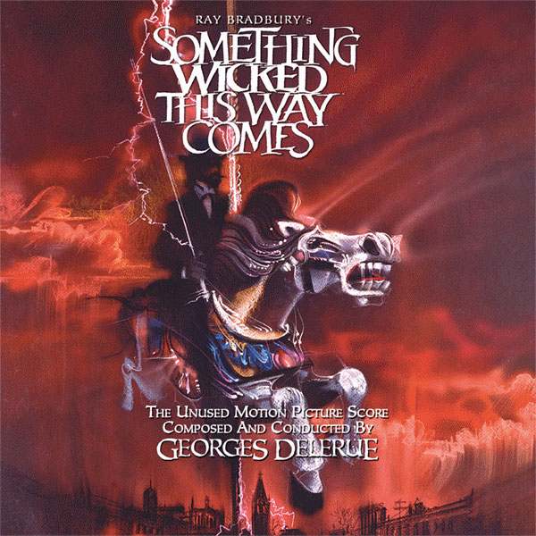 Something Wicked This Way Comes Soundtrack CD Georges Delerue (Unused)