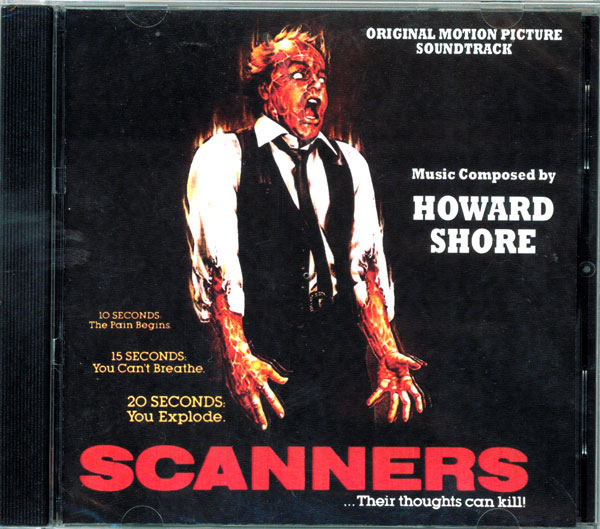 Scanners Soundtrack CD Howard Shore
