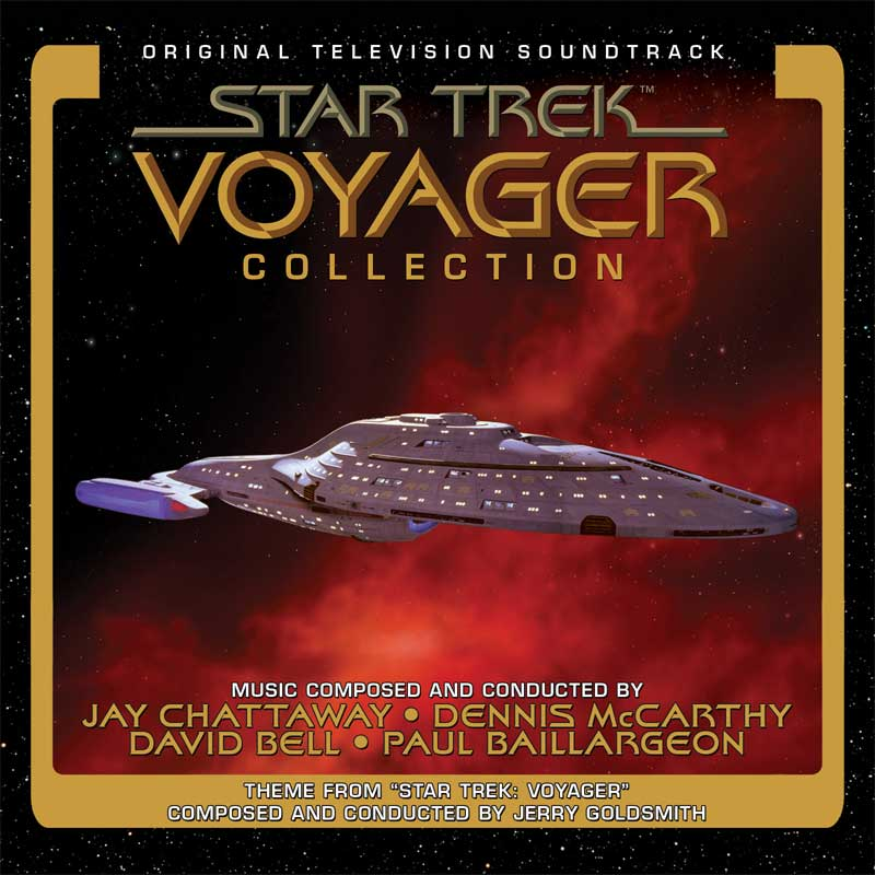 Star Trek Voyager Collection Soundtrack CD 4 Disc Set