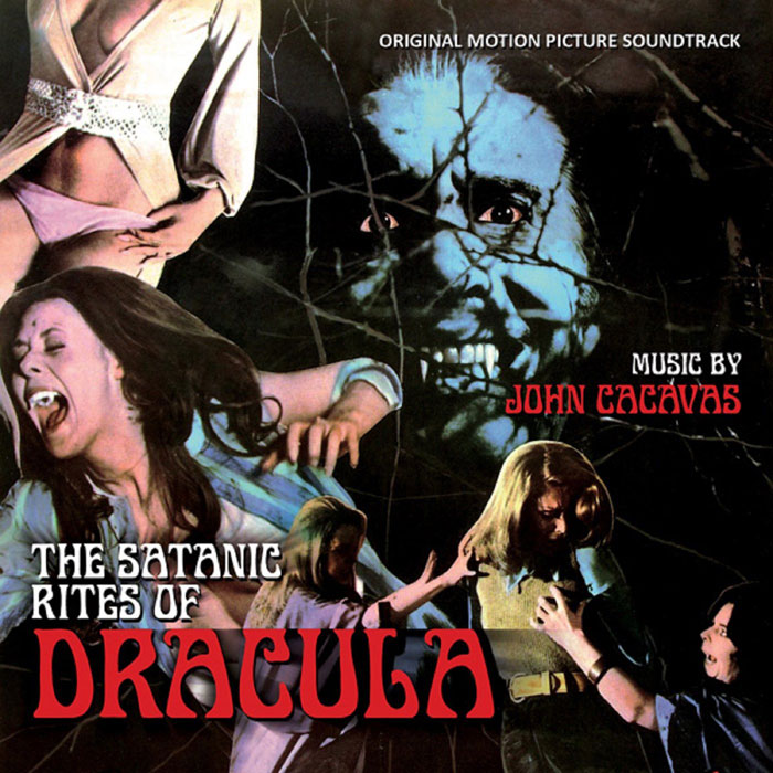 Satanic Rites Of Dracula Hammer Soundtrack CD