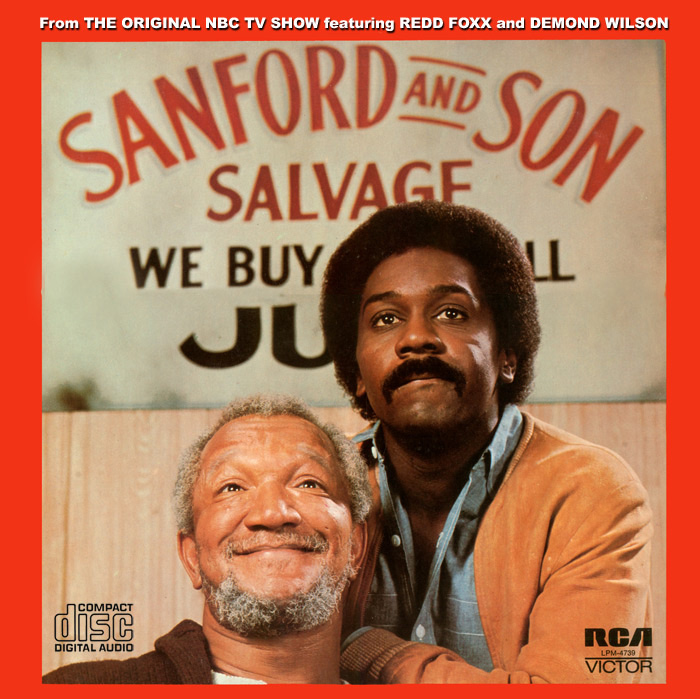 Sanford and Son TV Series Soundtrack CD Quincy Jones