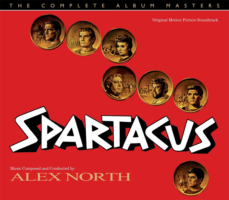Spartacus The Complete Album Masters Soundtrack CD Alex North
