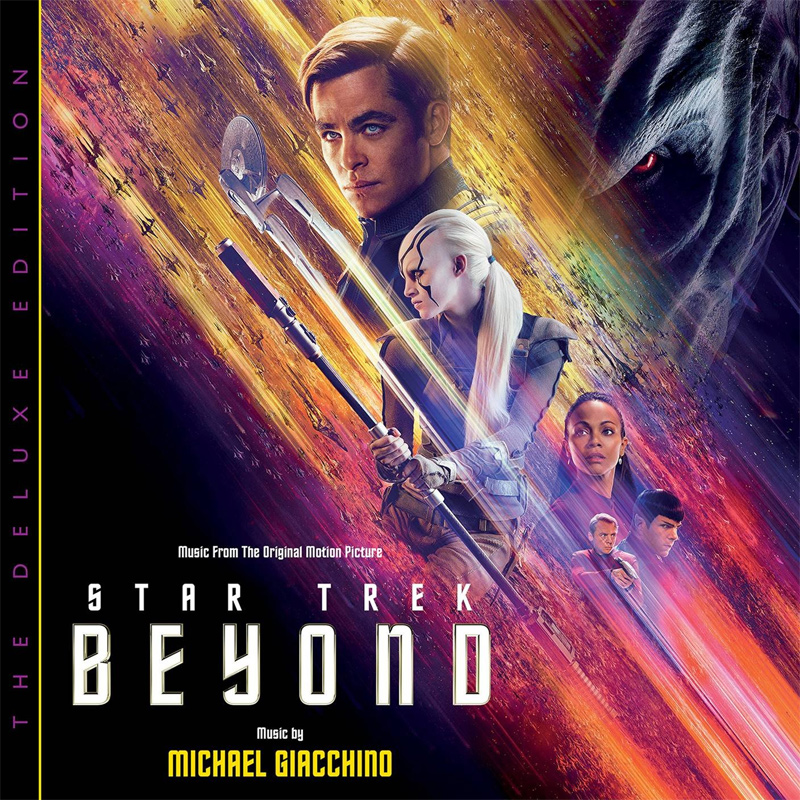Star Trek Beyond Deluxe Edition Soundtrack CD Michael Giacchino 2CD SET