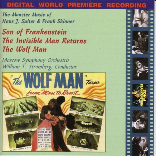 Son Of Frankenstein / Wolf Man / Invisible Man Returns Soundtrack CD Hans J. Salter / Frank Skinner