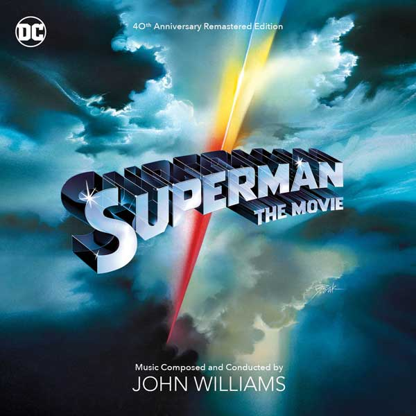 Superman The Movie 40th Anniversary Soundtrack CD REMASTERED LIMITED EDITION 3CD Set