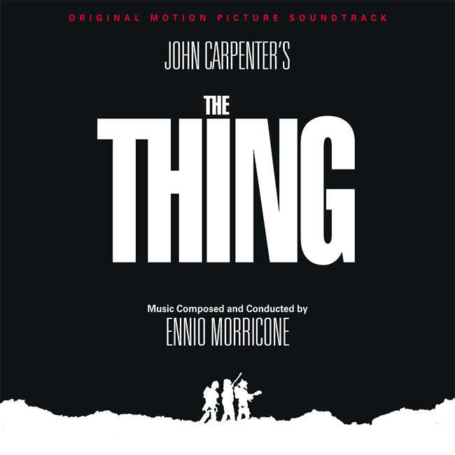 Thing, The Soundtrack CD Re-Mastered Ennio Morricone