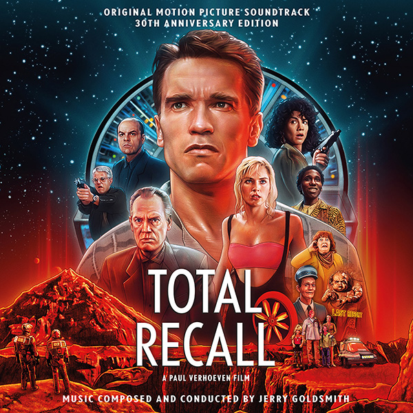 Total Recall 30th Anniversary Soundtrack 2 CD Set Jerry Goldsmith