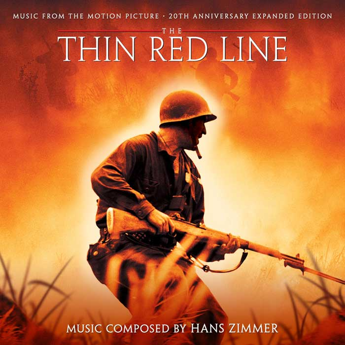 Thin Red Line (4) CD Soundtrack Score-Hans Zimmer