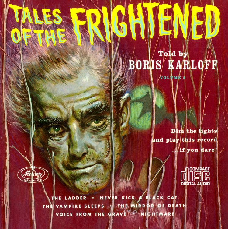 Tales of the Frightened Volume 2 CD Boris Karloff