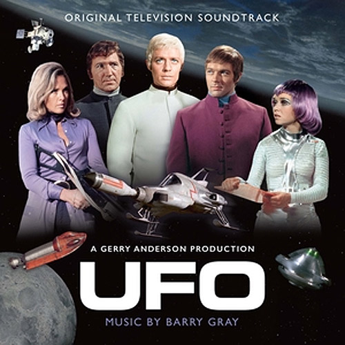 UFO TV Series Soundtrack CD Barry Gray Gerry Anderson