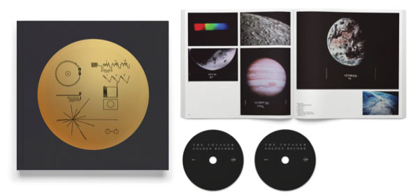 Voyager 1977 Interstellar Space Probe Golden Record 2CD Set with Book