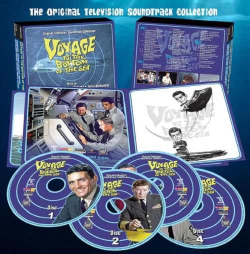 Voyage to the Bottom of the Sea Original Television Soundtrack 4xCD