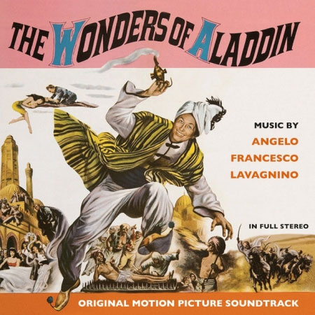 Wonders of Aladdin Soundtrack CD Angelo Francesco Lavignino