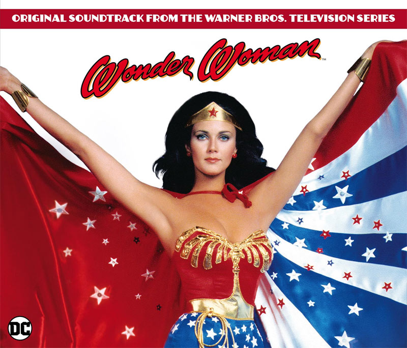 Wonder Woman TV Series Soundtrack CD Charles Fox 3 CD Set