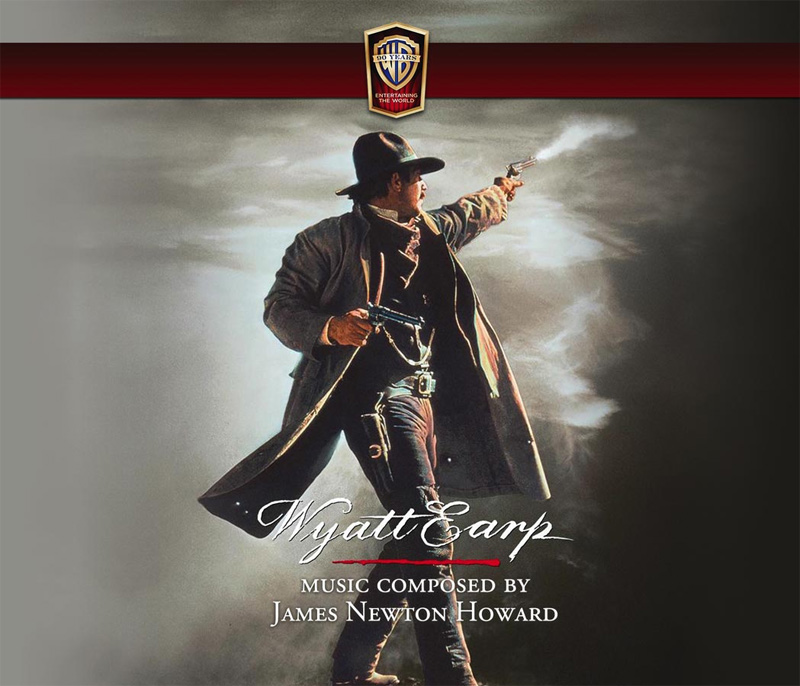 Wyatt Earp Soundtrack CD James Newton Howard 3CD Set LIMITED EDITION