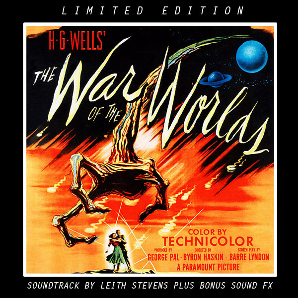 War Of The Worlds 1953 Special Soundtrack CD Limited Edition