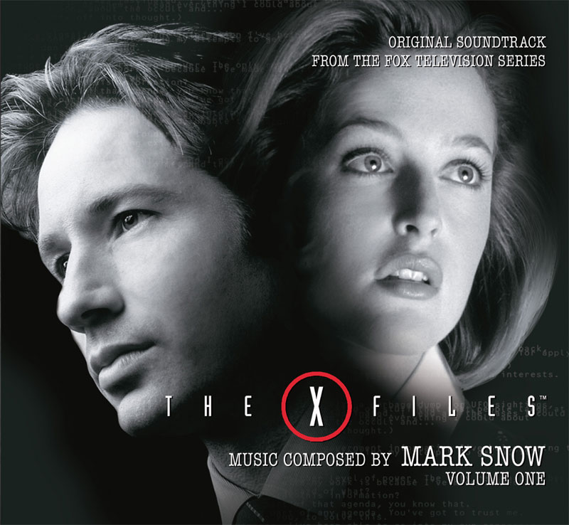 X-Files Volume 1 Soundtrack CD Mark Snow 4CD Set Limited Edition of 2000
