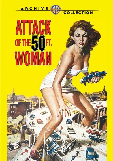 Attack Of The 50 Foot Woman 1958 DVD