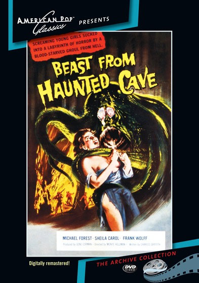 Beast From Haunted Cave 1959 DVD Digitally Remastered