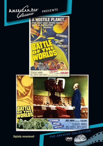 Battle Of The Worlds 1961 DVD Digitally Remastered
