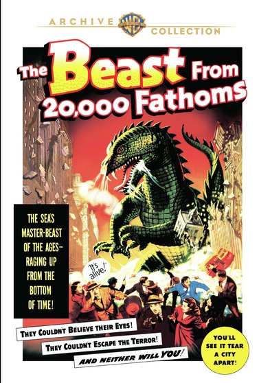 Beast From 20,000 Fathoms 1953 DVD