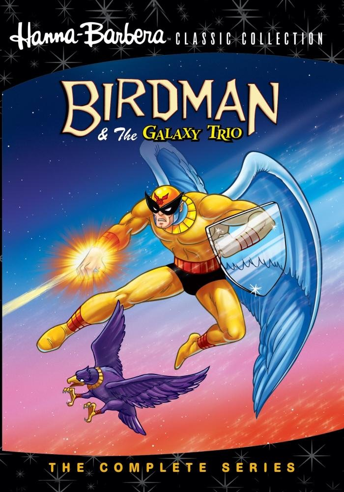 Birdman & The Galaxy Trio: The Complete Series DVD