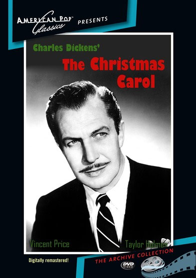 Christmas Carol, A 1949 DVD Vincent Price Digitally Remastered