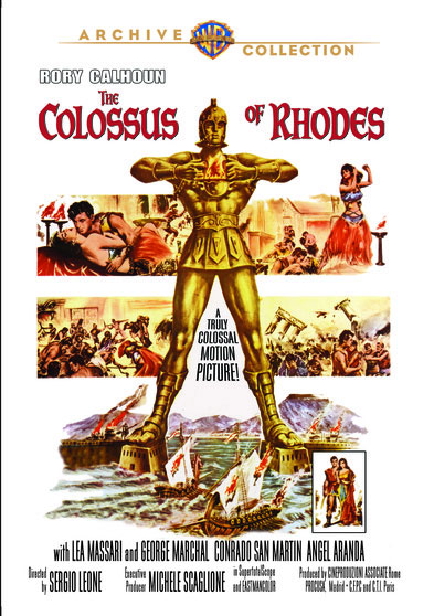 Colossus of Rhodes 1961 DVD