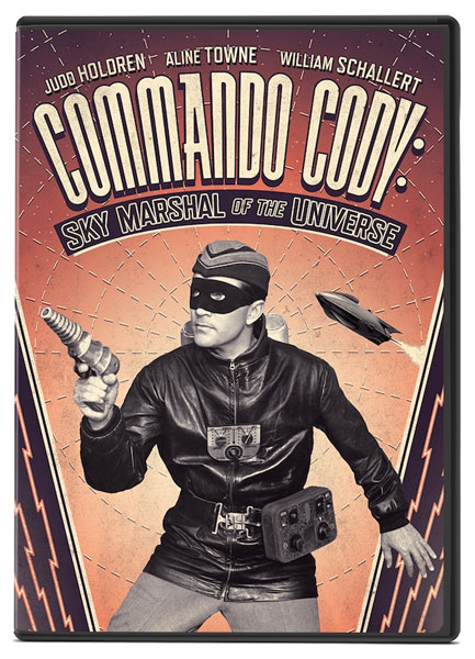 Commando Cody: Sky Marshal Of The Universe 1955 DVD
