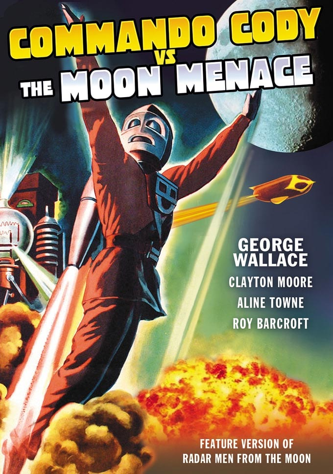 Commando Cody Vs. The Moon Men 1952 DVD
