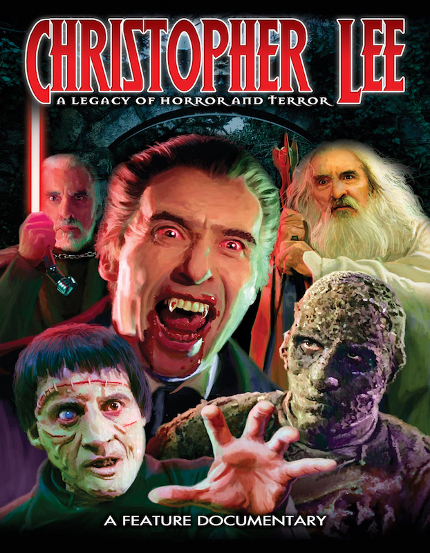 Christopher Lee: A Legacy of Horror and Terror Documentary DVD