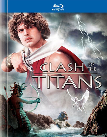 Clash of the Titans 1981 Blu-Ray Plus Digibook