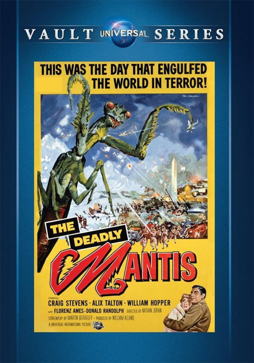 Deadly Mantis 1957 DVD