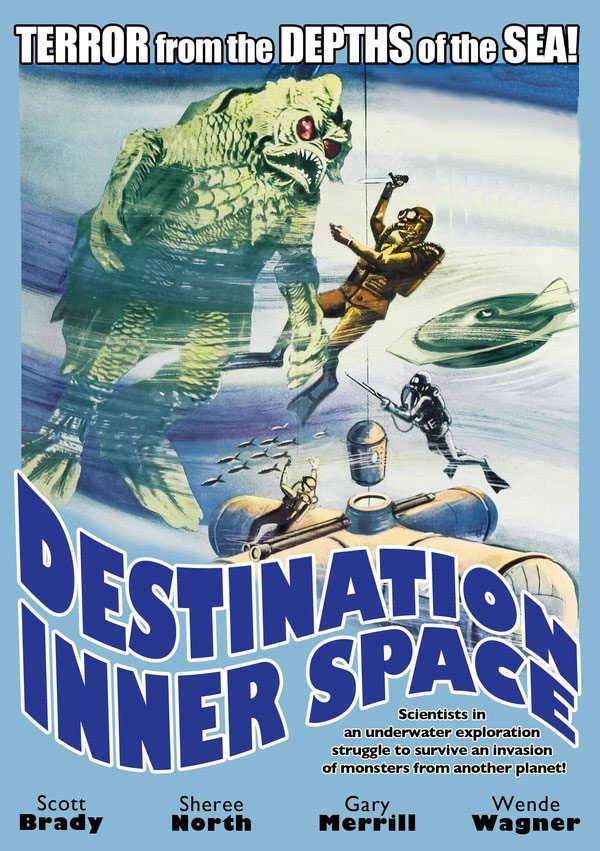 Destination Inner Space 1966 DVD