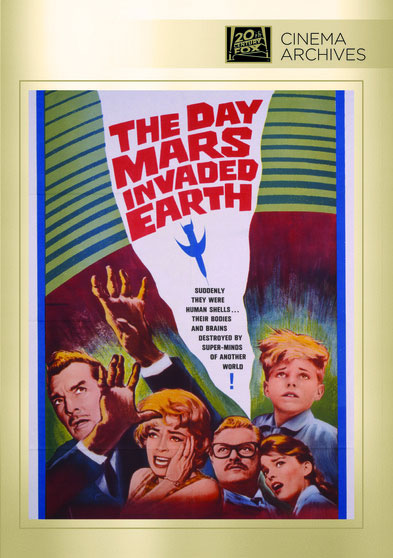 Day Mars Invaded The Earth 1962 DVD