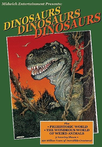 Dinosaurs, Dinosaurs, Dinosaurs DVD 3 Amazing Shows Gary Owens and Eric Boardman