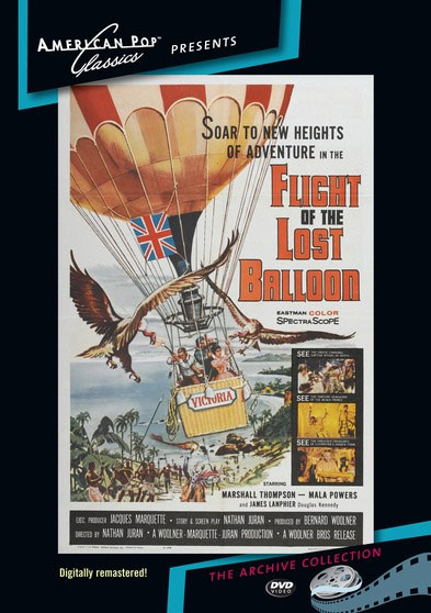 Flight of the Lost Balloon 1962 DVD Digitally Remastered