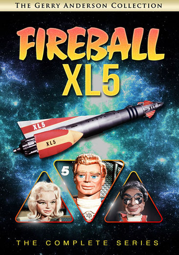 Fireball XL5 The Complete Series DVD Gerry Anderson Collection