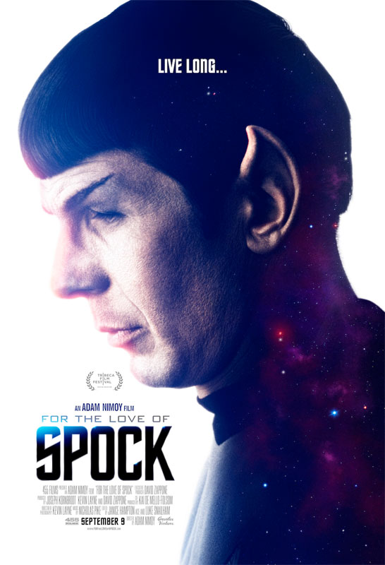 For The Love Of Spock 2016 Documentary DVD SPECIAL EDITION