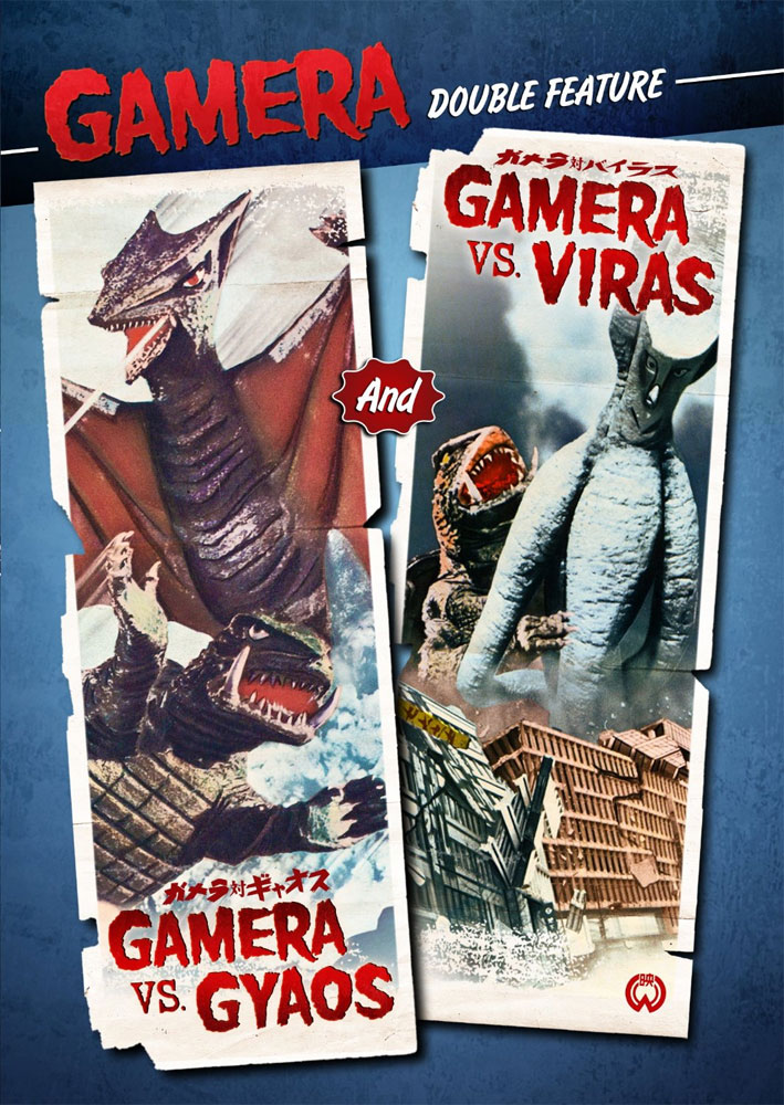 Gamera Vs. Gyaos / Gamera Vs. Viras DVD English Dubbed Widescreen