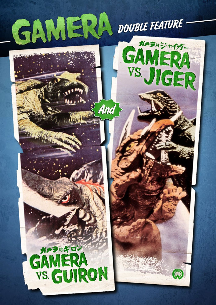 Gamera Vs. Guiron / Gamera Vs. Jiger DVD English Dubbed Widescreen