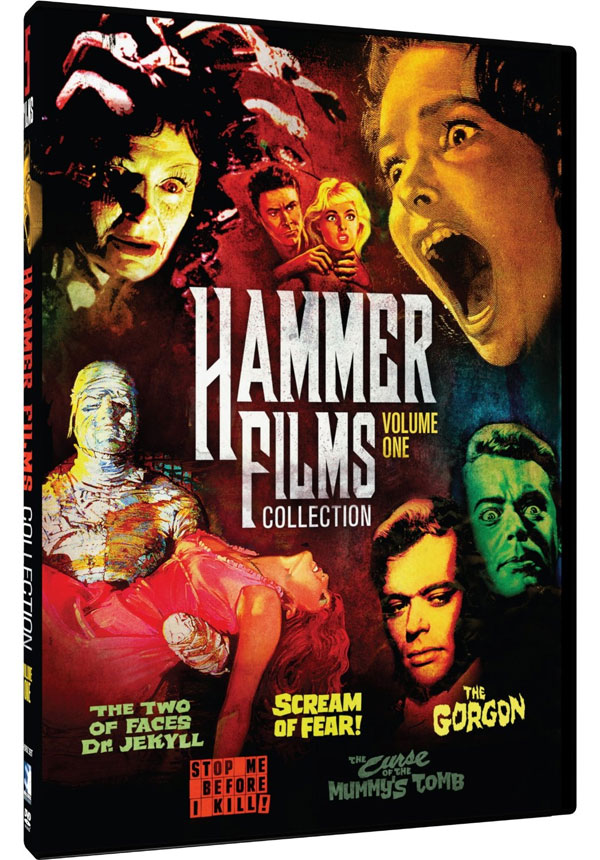Hammer Film Collection 5 Movie Pack: The Two Faces of Dr. Jekyll, Scream of Fear, The Gorgon, Stop Me Before I Kill, The Curse of the Mummy's Tomb