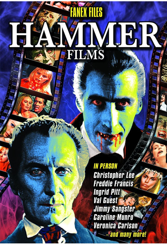 FANEX Files Hammer Films Convention Documentary DVD